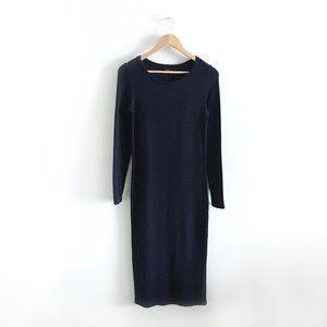 Dalia ribbed knit midi dress - size Small